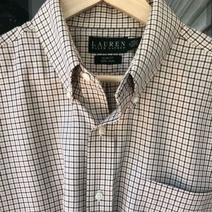 RALPH LAUREN SLIM FIT DRESS SHIRT-Neck 17